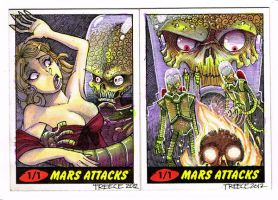 Mars Attacks! Artist Proofs by JeremyTreece