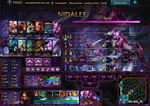 League Of Legends Hud Nidalee Retadora by JoylockDesigner