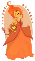 FLAME PRINCESS IS 2 QT by DreamaMoonlight