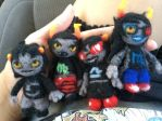 Patron Trolls- Wool Felt by DragonFang17