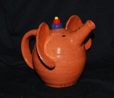 Elephant Teapot by CaptainColossal