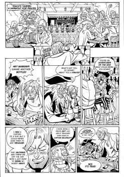 Captain Delancey Page 1 by TheSteveYurko