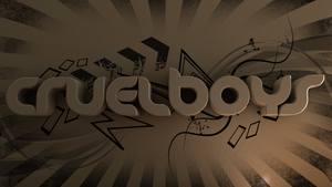Cinema 4D -- CruelBoys Logo by SMOKEYoriginalHD
