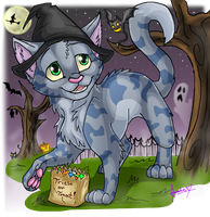 Trick or Treat by Amirah-the-cat