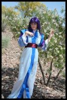 Ayeka dreaming of her Tenchi by LiebestodBlut
