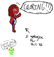 iScribble Keroro Nonsense by Screwed-In-The-Head