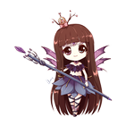 Commission: Tiana (Chibi) by Aoi-Azami