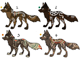 Assorted Canine Designs Batch 16 (CLOSED) by ChamberedNoctilus