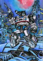 Jazz on Cybertron by danbrenus