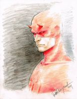 DareDevil sketch by elena-casagrande