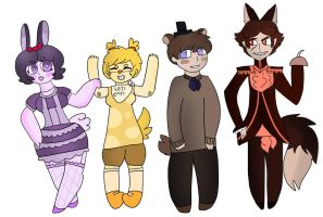 Five Night's At Freddy's by bachurie