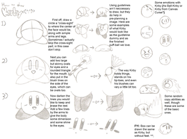 How to draw Kirby by Nintendoart