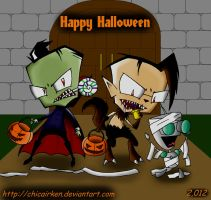 IZ HAPPY HALLOWEEN 2012 by CHICAIRKEN