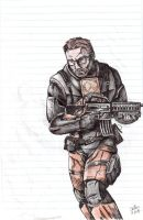 Gordon Freeman (Sketch) by Tadeu-Costa