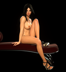 Chaise Girl by kellybay
