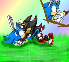 Happy Easter Part 2 by SonicGirlGamer71551