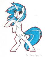 Vinyl Scratch by DedPhantom