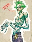 Joker's hungreeee!!! by Chuckdee