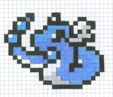 Graph Paper Dragonair by yodana