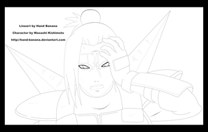 Ow dammit Lineart by Hand-Banana