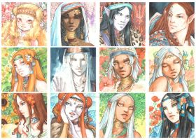 Faces 2012 by Alice-Bobbaji