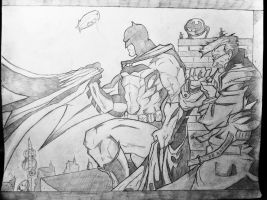 Batman and Gordon by DiegoE05