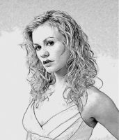 Drawing of Sookie Stackhouse 2 by vixenrose12027