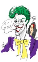 Joker fast scetch by MadHatters-Wife
