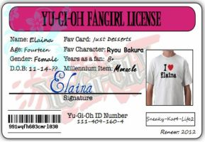 Fangirl License by Sneaky-Kat4-Life2