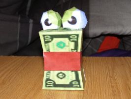 Conker's Money Wad- Papercraft by Sunagirl