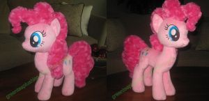Fluffy Pinkie Pie by GreenTeaCreations