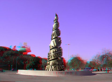 Rome 16 3D Anaglyph by yellowishhaze