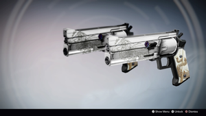 Romulus and Remus: Duel Wield Exotic Hand Cannons by DestinyWarlock
