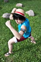 Monkey D. Luffy by Franky-chan
