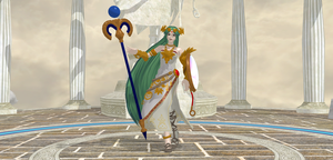[MMD] Wii U Palutena by ShadowlesWOLF