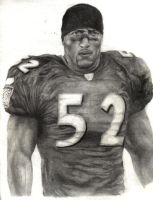 Ray Lewis Sketch by chaskillz