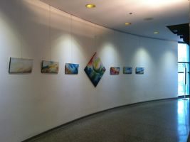 July Art Show 2012- First Path by dlighted