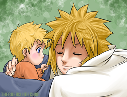 Naruto - Father and Son by thegreatlimechan