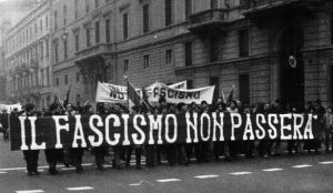 fascism will not pass, what do you think ? by LoScorreggia