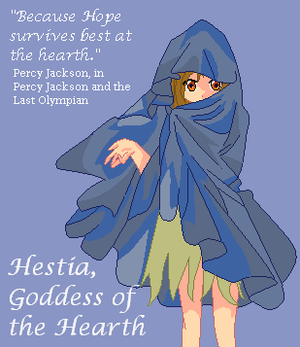 Hestia, Goddess of the Hearth