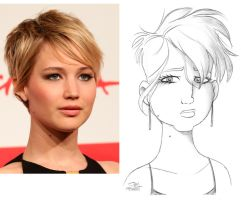 JENNIFER LAWRENCE by JayFosgitt