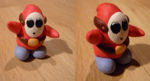 Shy Guy Figurine by Jelle-C