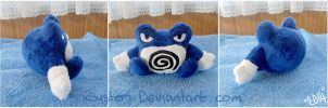 Poliwrath Pokedoll by xBrittneyJane