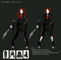 BloodRayne Betrayal CONCEPTS 5 by jezzy