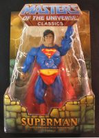 MOTUC custom Superman packaged by masterenglish