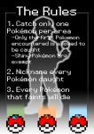 The Rules of Nuzlocke Challenge - LeafGreen Ed. by DanraiJoaquin