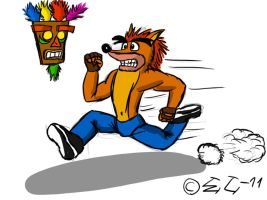 Crash Bandicoot - Oldskool by EmotionCreator