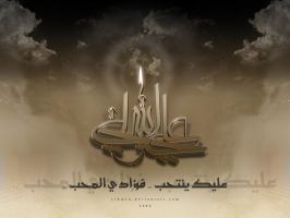 :-Imam Ali -:- Wallpaper 2008- by YIHMSN