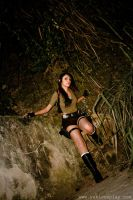 Lara Croft: Ready to Climb by Yukilefay