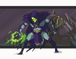 skeletor by curseone